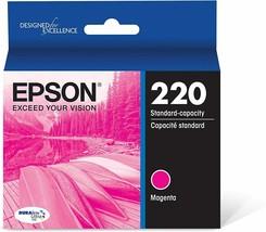 Epson 220 Single Ink Cartridge - Magenta - $8.58