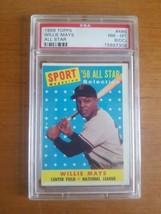 1958 Topps Willie Mays San Francisco Giants #486 All Star Baseball Card ... - $742.50