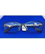 New Face Stockholm Eyeglass Frame Rx Passion 1328 53-16-135 Color 5502 - $59.39