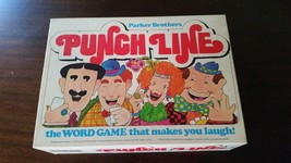 Vintage Parker Brothers Punch Line Game Word Game Makes You Laugh 1978 C... - $17.48