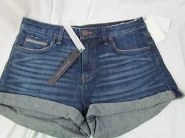 NWT STS Blue Cuffed Dark Blue Five Pockets Shorts Jr Sz 28 Org $45 - $25.64