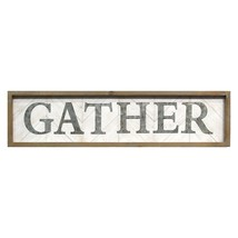 "31.5"" X 1.18"" X 7.87"" Natural Wood Gather Wall Decor - $46.80"