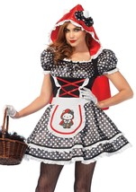 Leg Avenue Hello Kitty Chaperon Rouge Adulte Femmes Déguisement Halloween - $74.43
