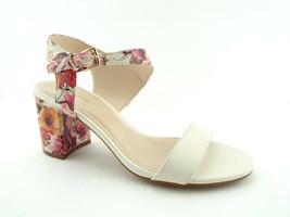 New COLE HAAN Size 6.5 ELVA Floral White Ankle Strap Sandals Shoes 6 1/2 - $84.00