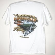 Harley Davidson Motorcycles Greenville South Carolina 2010 T-Shirt Mediu... - $7.83