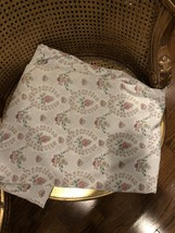 Dan River King Sz Fitted Sheet Floral & 2 Pillow Cases No Iron Percale USA - $40.86