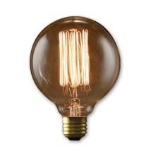 40 Watt Nostalgic Incandescent Edison G30 Globe Thread Filament Medium Base Anti - $137.65