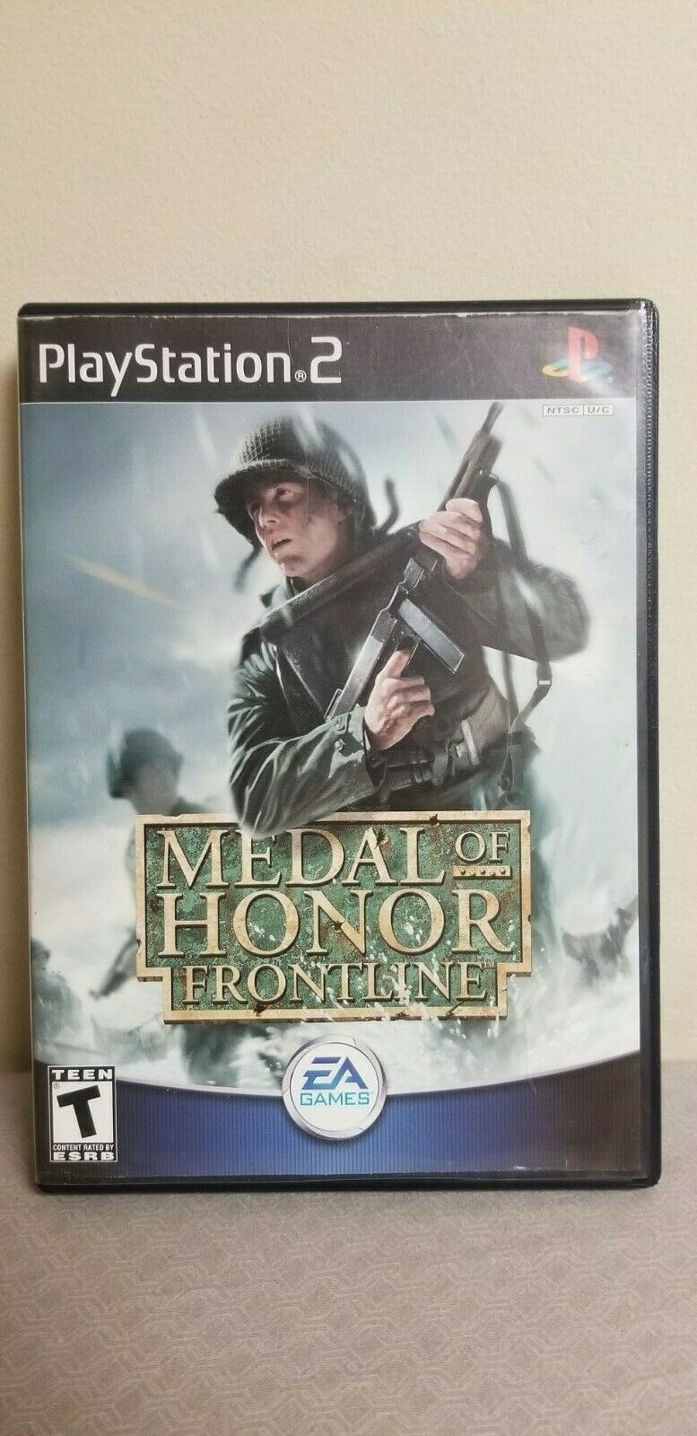 Medal of Honor: Frontline (Sony PlayStation PS2, 2002) Video Game