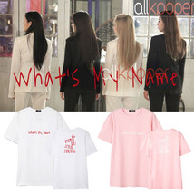 KPOP T-ara T-shirt What's My Name Album Tshirt 2017 New Unisex Casual Te... - $10.38