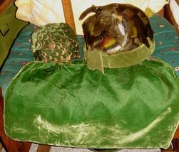 VTG ART DECO VELVET MISER DRAWSTRING BAG FEATHER FLAPPER HAT WIDE HEAD B... - $267.99
