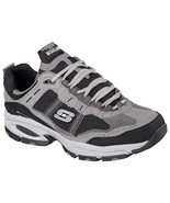 51241 Ew Ccbk Ancho Skechers Zapatos Hombre Espuma Viscoelástica Deporte... - $44.78