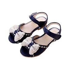 Children Sandals Summer Girls Sandals Princess Shoes Bow Girls Shoes Baby Shoes image 3