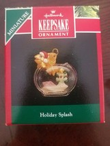 Hallmark keepsake Ornament Holiday Splash upc 070000065033 - $19.48