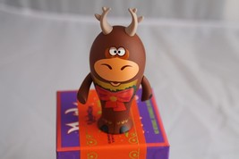 New Walt Disney Vinylmation Park Starz Series 4 Dancing Reindeer Xmas Parade - $14.01