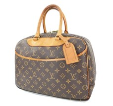 Authentic LOUIS VUITTON Deauville Monogram Hand Bag Purse #31620 - $449.00