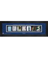 Personalized John Hopkins University Campus Letter Art Framed Print - $39.95