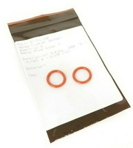 LOT OF 2 NEW BAUMANN 87706-688 O-RINGS -210 ID=0.734 W=0.139 IN. 87706688 image 1