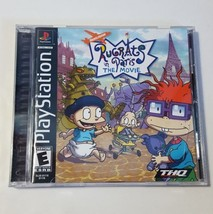 Rugrats In Paris - Playstation 1 PS1 Video Game CIB Complete BL Black Label - $13.81