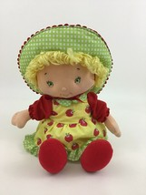 "Strawberry Shortcake Apple Dumplin Talking 10"" Doll Toy Plush Bandai 2003 - $22.23"