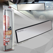 Broadway 300MM Wide Convex Interior Clip On Rear View Clear Mirror Unive... - $11.29