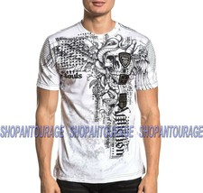 Affliction Sharp Eye A20715 New Short Sleeve Fashion Graphic T-shirt Top For Men - $56.62