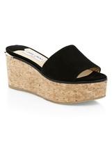 Jimmy Choo DeeDee Suede Platform Mules Sandals Size 41 - $277.20