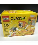 LEGO CLASSIC INSPIRATION INSIDE 10709 orange creativity box lion airplan... - $17.82