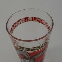 "1999 Warner Bros 5 3/4"" Looney Tunes Bugs Bunny Drinking Glass image 2"