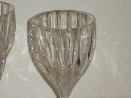 4 Mikasa Park Lane Wine Glass Goblet 6 3/8 inch Lead Crystal x4 - $46.53