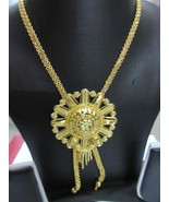 Indian Bollywood Gold Plated Wedding Ethnic Knot Style Fashion Jewelry N... - $16.34