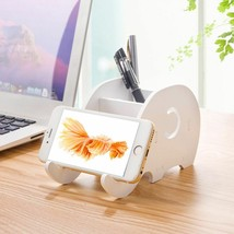 Desktop Creative Cute Elephant Phone Holder Stand for Smartphone Pen Sch... - £5.42 GBP