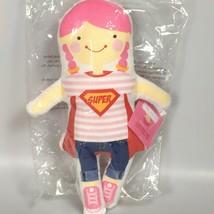 Super Girl Joy stuffed doll rag doll girls first doll - $20.46