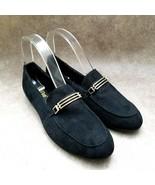 Brash Womens  179281 Sz 7.5 M Black  Slip On Loafers Flats - $27.99