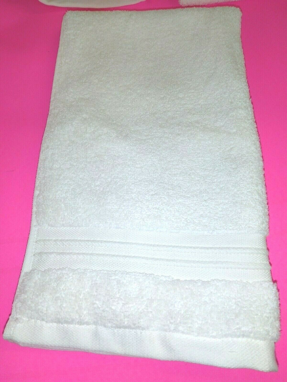 FIELDCREST  100% Cotton  HAND TOWEL 16''X30''  - CREAM- NEW WITH TAGS