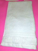 FIELDCREST  100% Cotton  HAND TOWEL 16''X30''  - CREAM- NEW WITH TAGS image 1