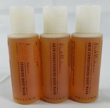 Lot 3 Crabtree & Evelyn Aromatherapy Body Wash Revitalizing Conditioning 2.2 Oz. - $14.80