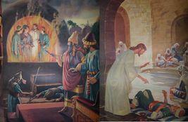 Vintage Religious Posters Church 50's 60's Jesus Bible Stories 18x24 15pcs  image 6