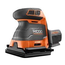 Ridgid 18-Volt OCTANE Cordless Brushless 3-Speed 1/4 Sheet Sander - Bare... - $153.68