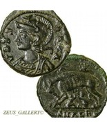 SHE WOLF suckling Romulus RemusTwins CONSTANTINE The GREAT Ancient Roman... - $164.88