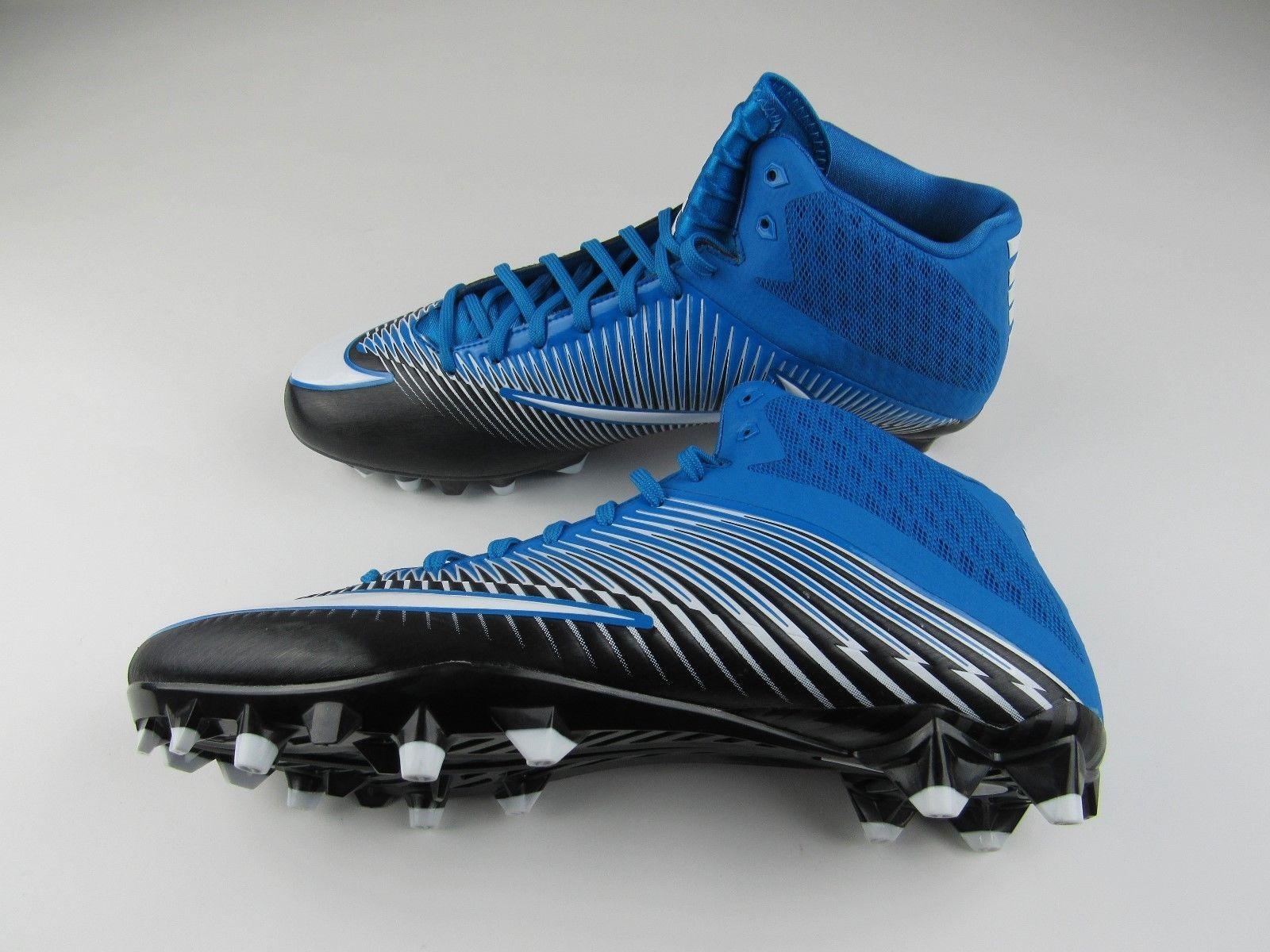 uk availability 61512 9cd54 NEW Mens Nike Vapor Speed Football Cleats Size 14 846443-405 Blue Black  White