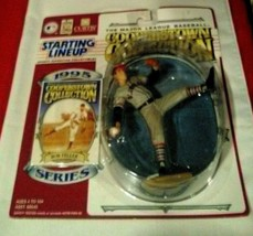 Bob Feller Figurine Card Cooperstown Collection Starting Lineup 1995 Kenner - $11.88