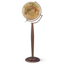 Lyon Globe 15-inch Diameter Antique Ocean Illuminated Floor Standing Globe - $449.99