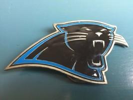 CAROLINA PANTHERS Logo BELT BUCKLE  NEW Football Fan Gear - $9.89