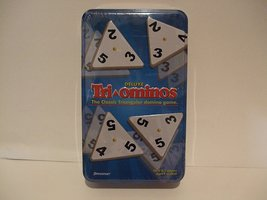 Deluxe Tri-Ominos the Classic Triangular Domino Game by Pressman Toy - $49.45