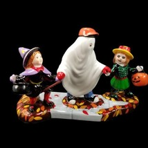 Department 56 Snow Village Trick or Treat Kids Halloween Full Set 54937 ... - £36.73 GBP