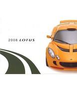 2008 LOTUS sales brochure catalog ELISE SC EXIGE S US 08 - $15.00