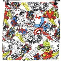 Mighty Fine Marvel Heros Bodycon Skirt Captain America Spider-Man Size M... - $34.60