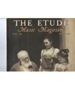 """Vintage 1936 copy THE ETUDE MUSIC MAGAZINE """"Conference with Leopold Godo... - $8.50"""