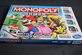 Monopoly Gamer Nintendo Edition Battle For the Highest Score New Damaged... - $19.99