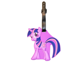 Travel Suitcase ID Luggage Tag and Suitcase Label - Little Purple Pony - $5.95